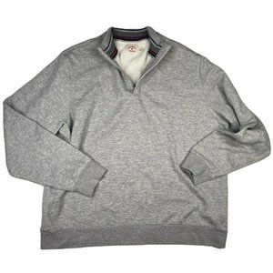 Brooks Brothers Men's Gray Cotton Blend Sweater